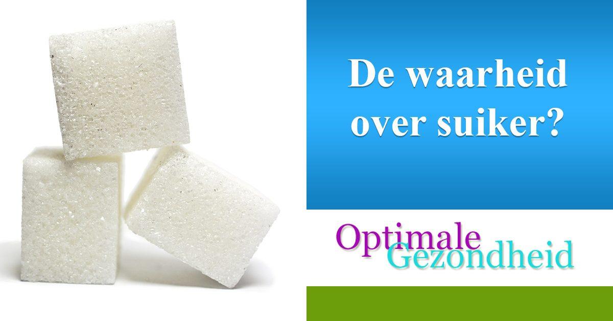 Hoe slecht/goed is suikers nu daadwerkelijk voor je?