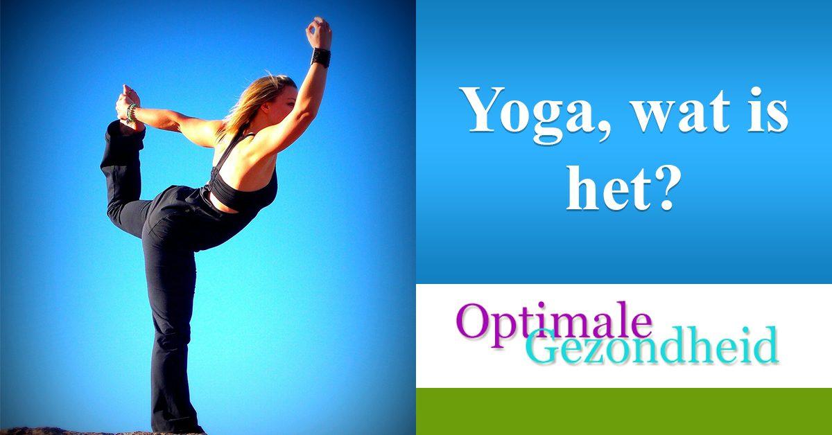 Wat is yoga? En wat kan je met yoga bereiken?