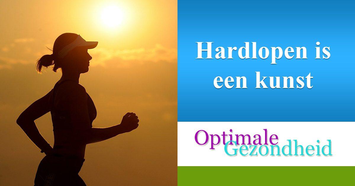 hardlopen is een geweldige manier om af te vallen en om je conditie op te bouwen