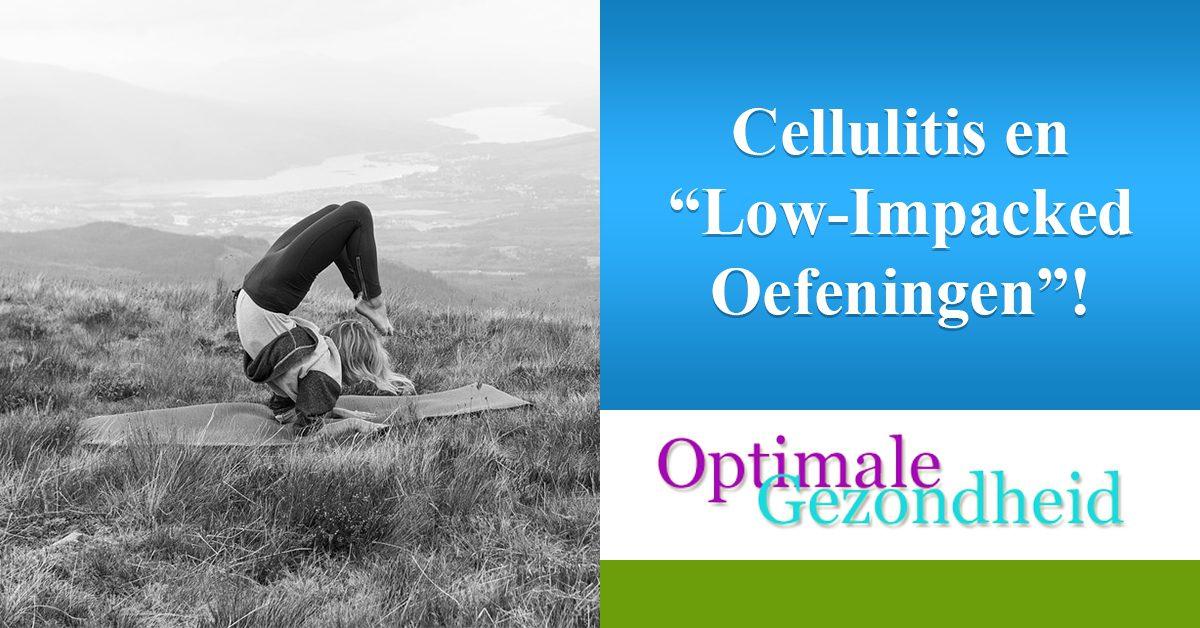sport oefeningen tegen cellulite