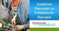 Aambeien operaties in de kliniek