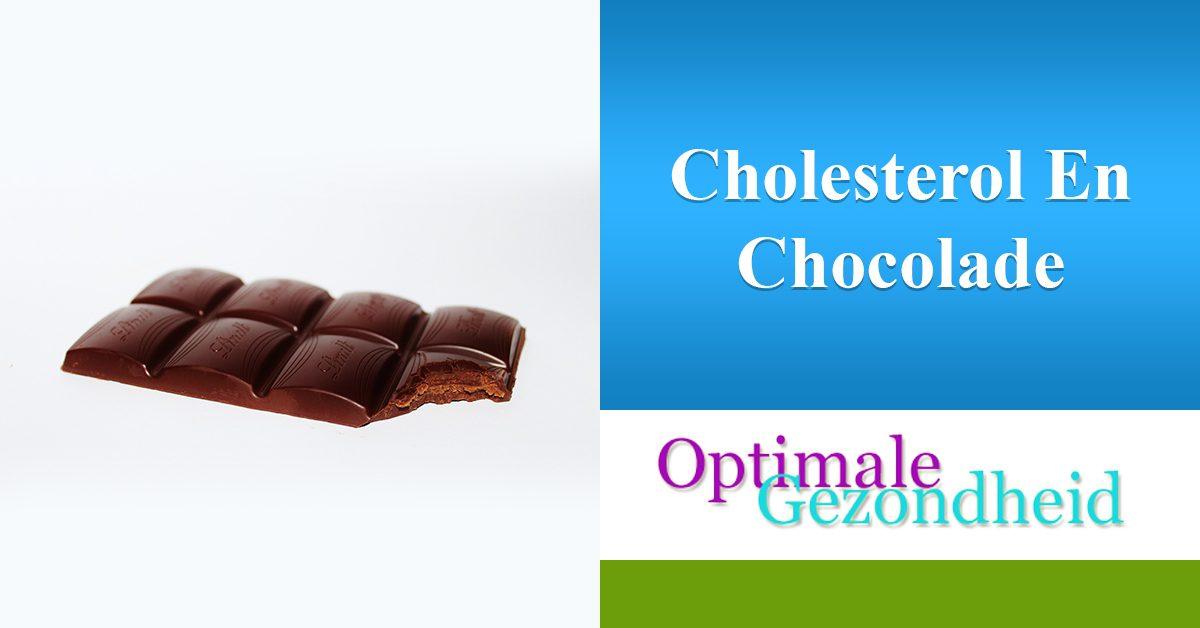 Cholesterol en chocolade