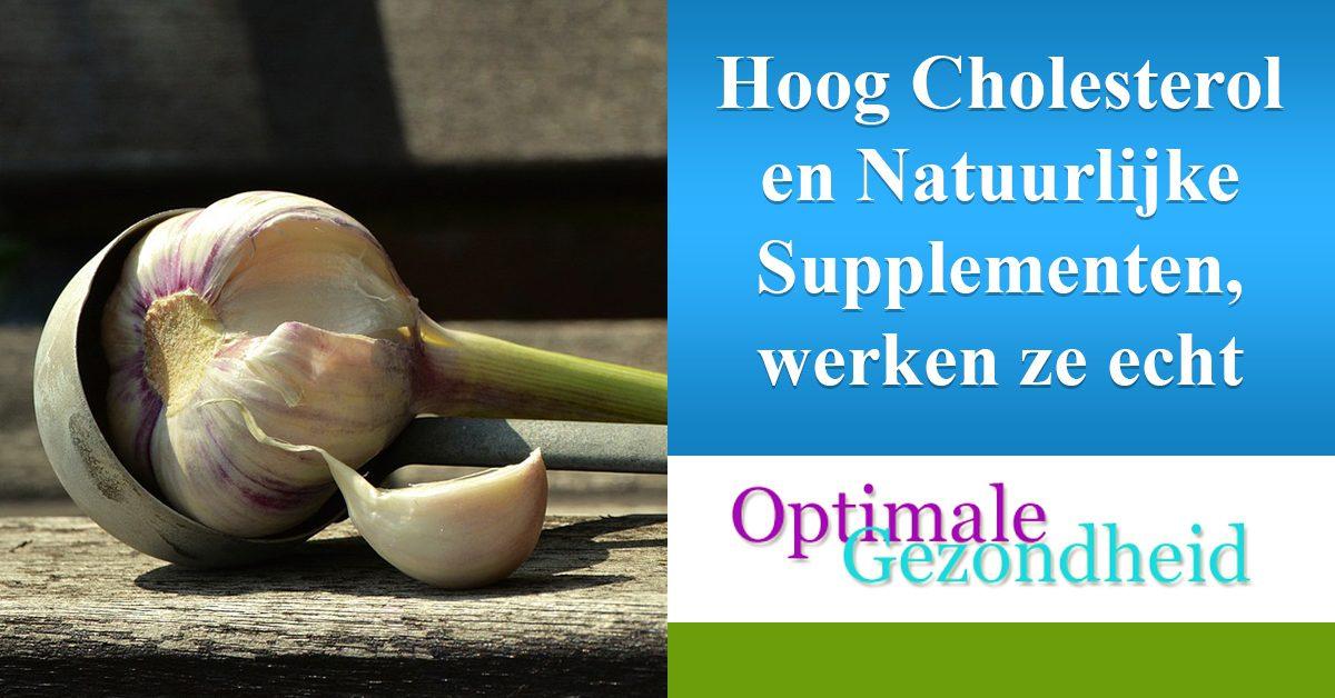 Cholesterol en natuurlijke supplementen