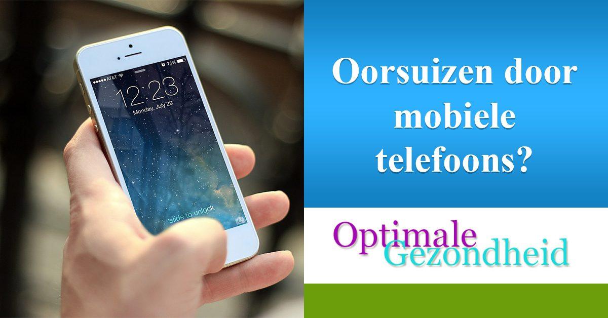 Oorsuizen door de vele mobiele telefoons