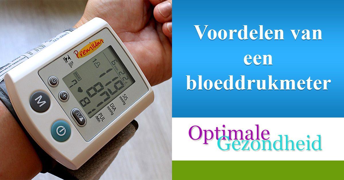 Wat zijn de voordelen van een bloeddruk meter?