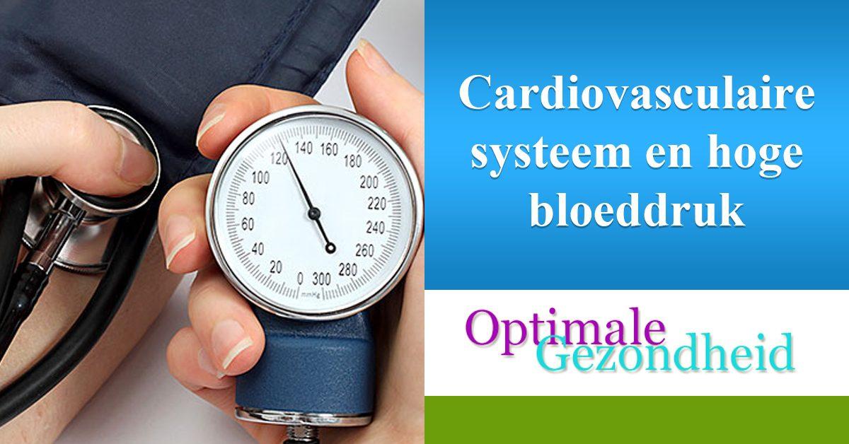 cardiovasculair systeem en hoge bloeddruk