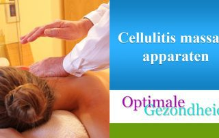 cellulite en massage apparaten