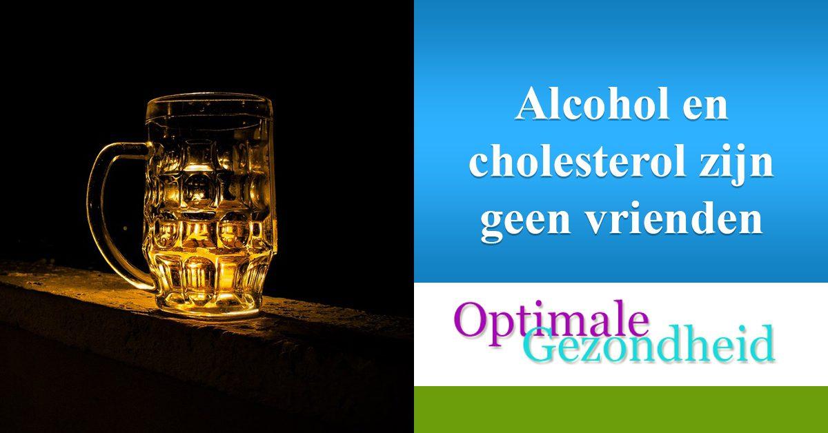 cholesterol en witte wijn