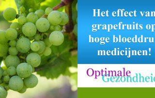 het effect van grapefruit op bloeddruk medicijnen