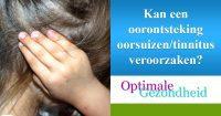oorsuizen en een oorontsteking