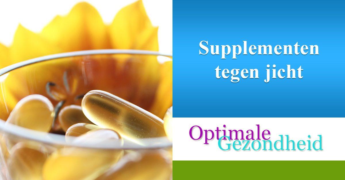 natuurlijke supplementen tegen jicht