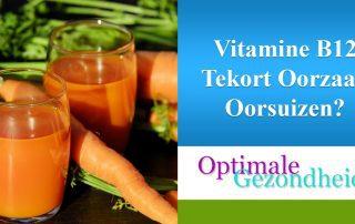 oorsuizen en een vitamine B12 tekort?