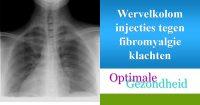 wervelkolom injecties tegen fibromyalgie klachten
