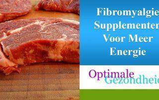 fibromyalgie supplementen voor meer energie