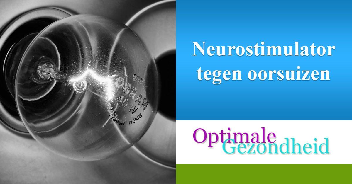 neurostimulator tegen oorsuizen
