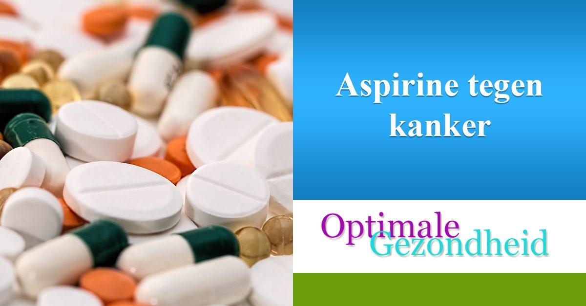 aspirine tegen kanker