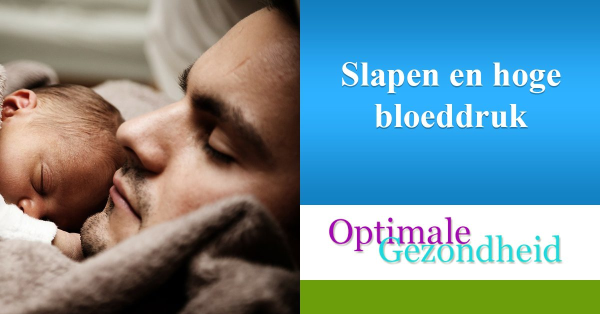slapen en hoge bloeddruk