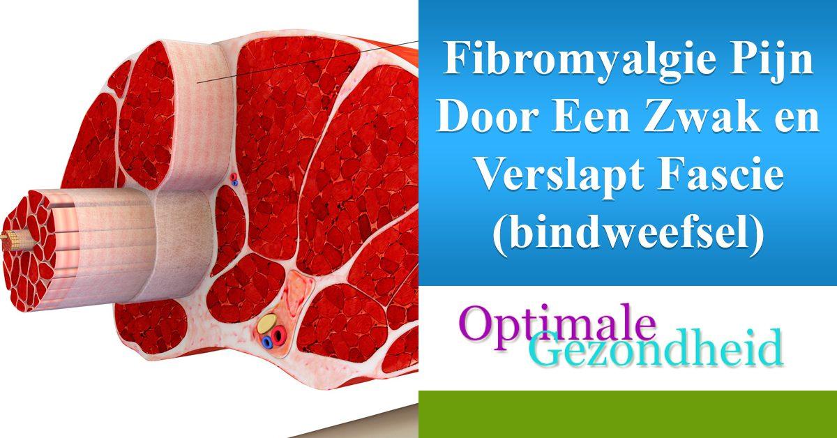 fibromyalgie door zwak bindweefsel
