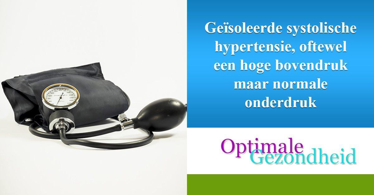 Geïsoleerde systolische hypertensie