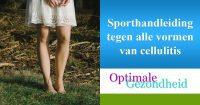 sporten tegen cellulite