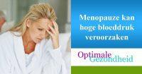 menopauze en hoge bloeddruk