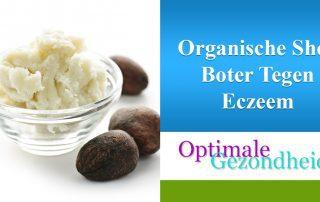 organische shea boter tegen eczeem