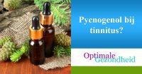 pycnogenol en tinnitus