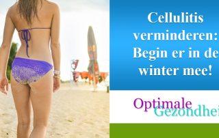 cellulite verminderen in de winter