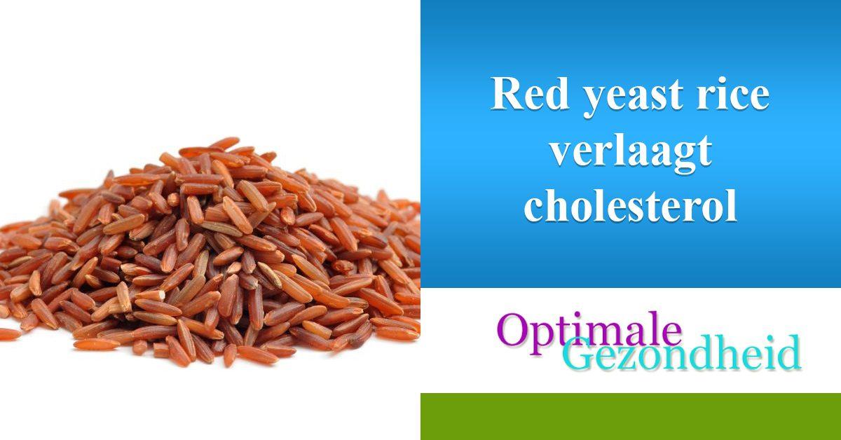 red yeast rice verlaagd cholesterol