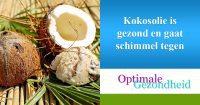 kokosolie en een schimmelinfectie