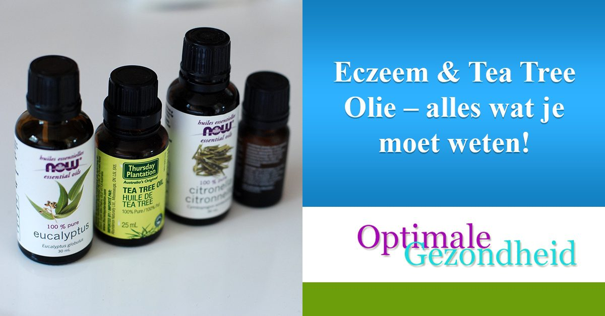 eczeem en tea tree olie