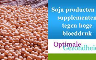 soja producten tegen hoge bloeddruk