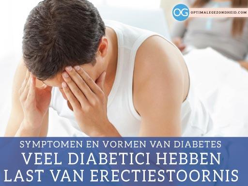 symptomen en vormen van diabetes