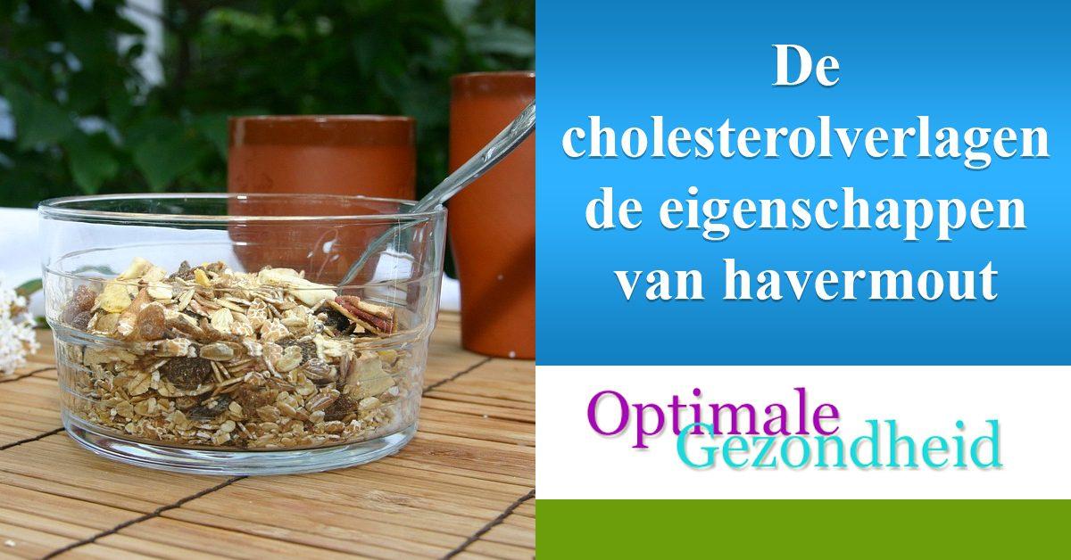 cholesterol verlagende eigenschappen van havermout