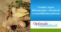 gember tegen fibromyalgie