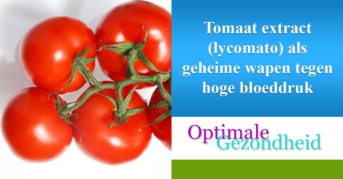 tomaten tegen hoge bloeddruk