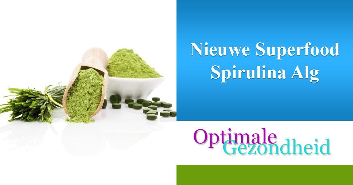 spirulina is een nieuw superfood
