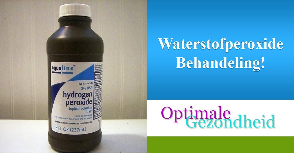 Magnifiek Waterstofperoxide tegen de mannelijke schimmelinfectie @MK55