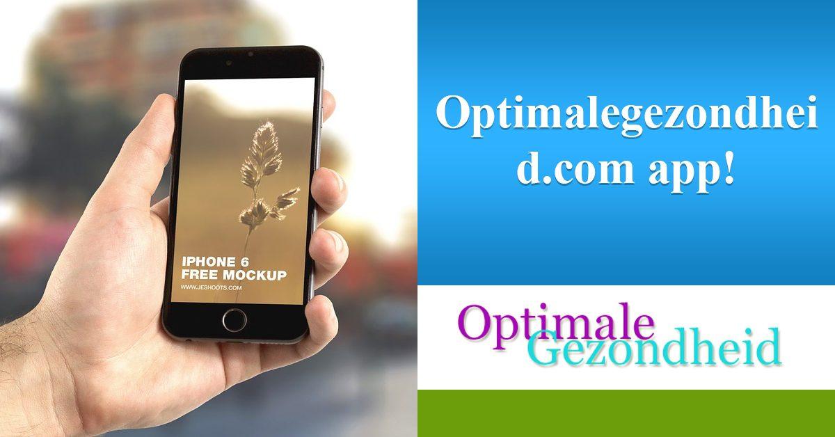 Apps voor je gezondheid