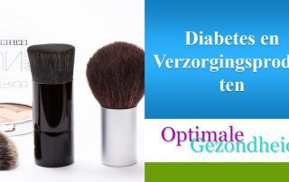 diabetes en verzorgingsproducten