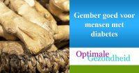 gember en diabetes