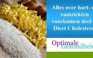 cholesterol dieet