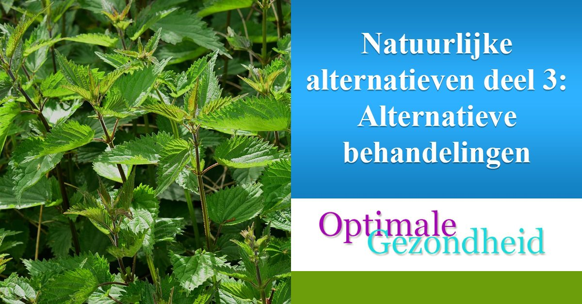 natuurlijke alternatieven