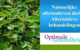 Natuurlijke behandelingen