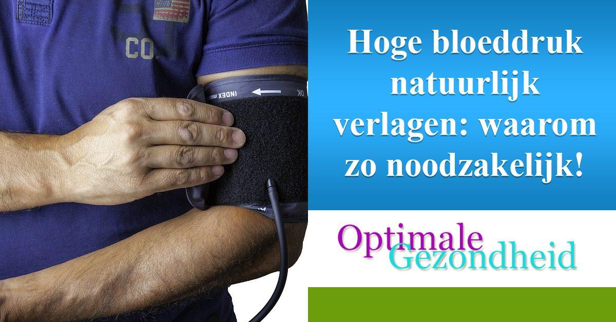 hoge bloeddruk verlagen