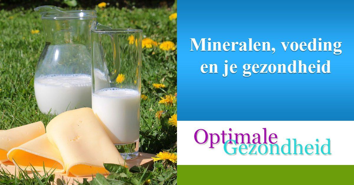 mineralen, voeding en je gezondheid