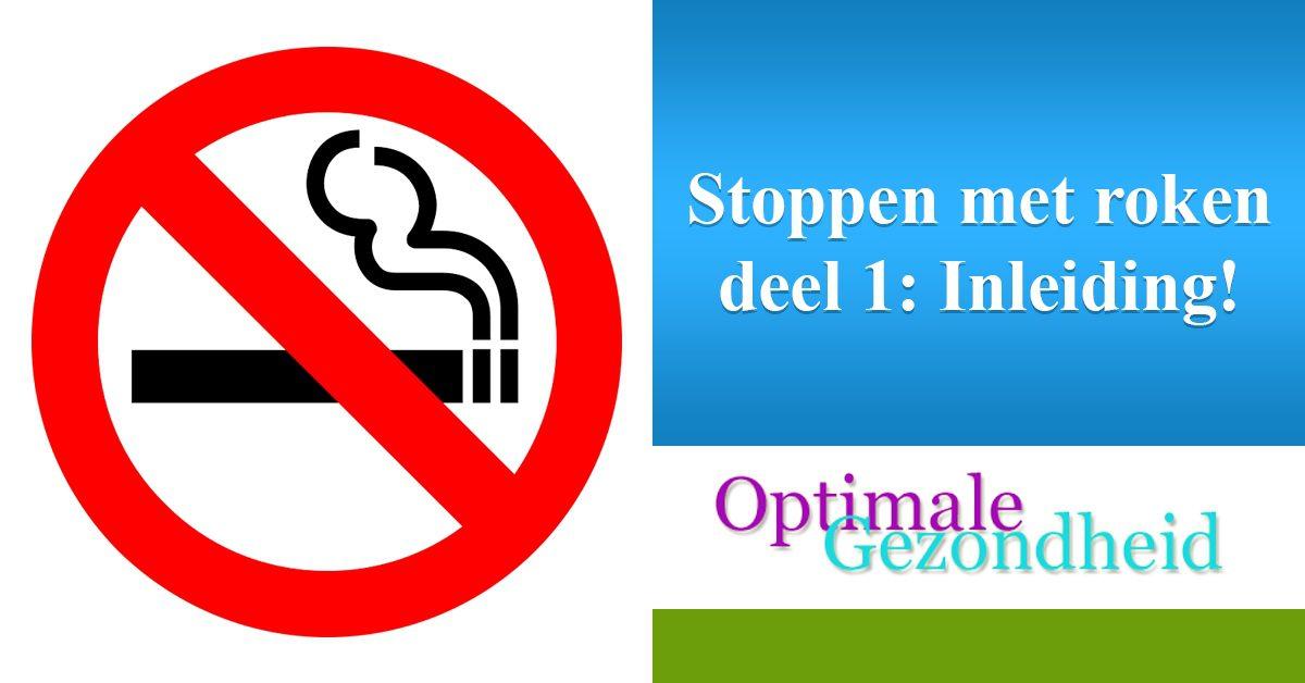 stoppen met roken inleiding