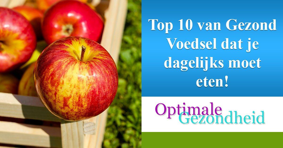 top 10 voedingsmiddelen