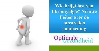 fibromyalgie aandoening