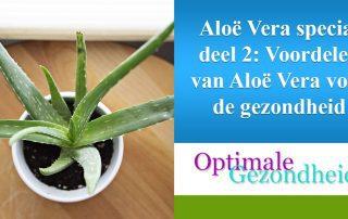 Aloe Vera en je gezondheid